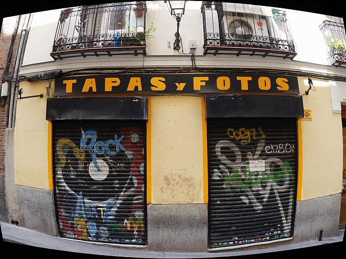 Fisheye: Madrid