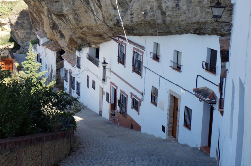 The Spanish White Towns: Setenil de las Bodegas